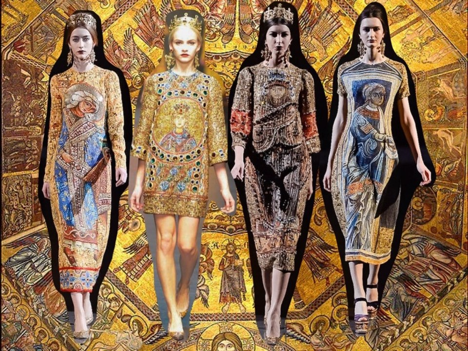 организовать увлекательную византийская коллекция дольче и габбана фото людей ежегодно