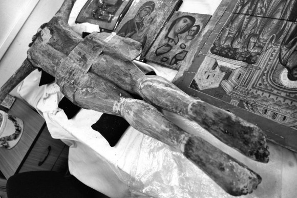Полёт. (Музей при отделении реставрации ПСТГУ. Москва)