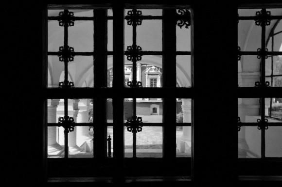 Перекрёсток (Новодевичий монастырь. Москва)
