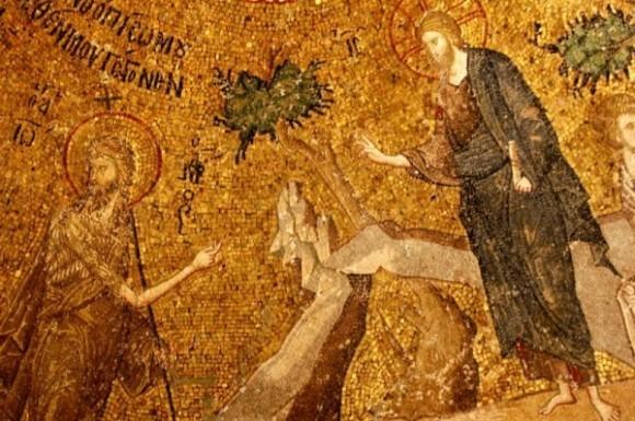 Иоанн Креститель и Христос