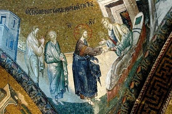 Христос исцеляет Петрову тещу