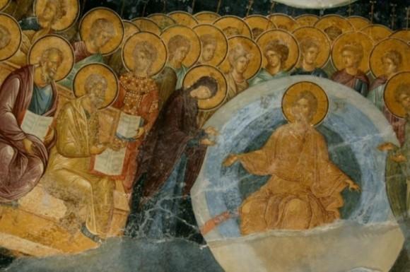 Страшный Суд: Христос и Богородица