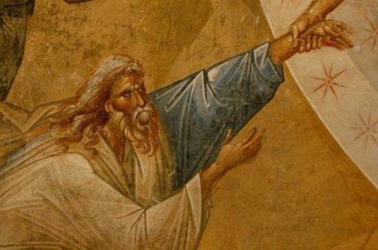 Воскресение Христово: деталь