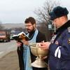 По просьбе автоинспекции в Ставрополе освятили наиболее опасные участки дорог