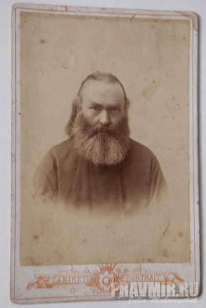 Сергей Алексеевич Парусников, первый священник Троицкого храма, митрофорный протоиерей, которому император пожаловал дворянский титул, отец новомученика