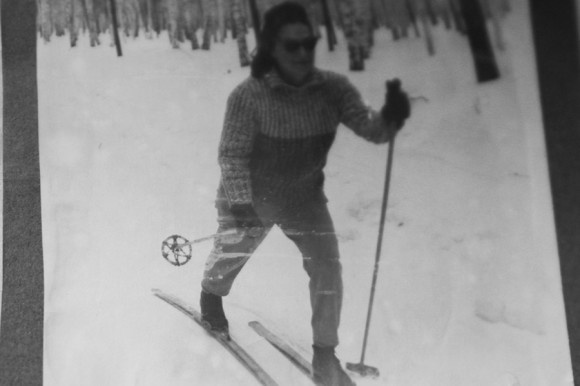 На лыжне