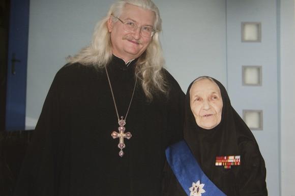 С духовником после вручения премии