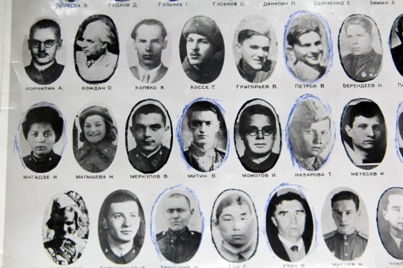Разведчики из 151 разведывательной роты 130 стрелковой дивизии