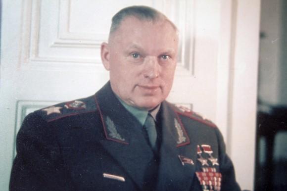 Маршал К. Рокоссовский