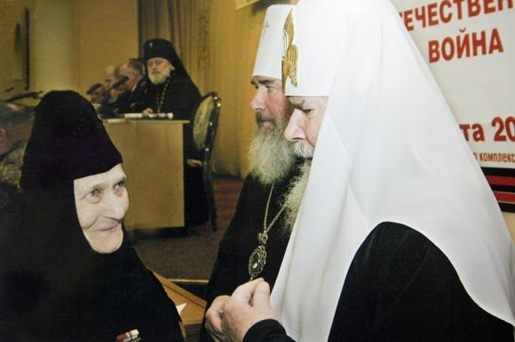 Со Святейшим Патриархом Алексием и митрополитом Климентом