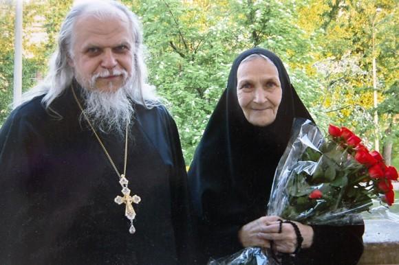 С о.Аркадием Шатовым, ныне епископом Пантелеимоном
