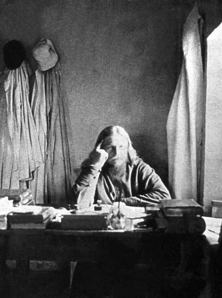 Архиепископ Петр (Зверев) в ссылке (Перов, 1924). Фото: 6lihov.ru