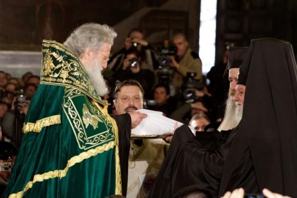 Интронизация Патриарха Болгарского Неофита (17)