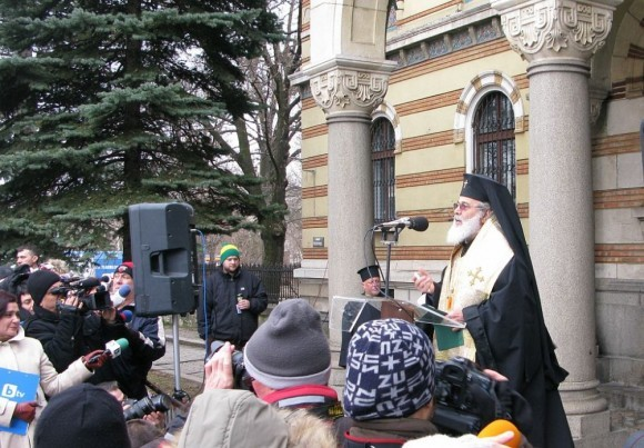 Интронизация Патриарха Болгарского Неофита (2)