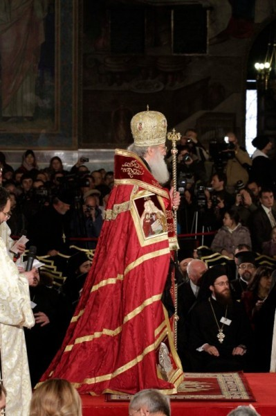 Интронизация Патриарха Болгарского Неофита (15)