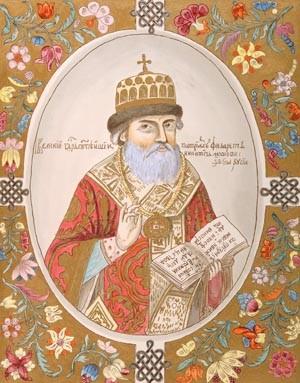 Патриарх Филарет (в миру Феодор Никитич Романов; 1554 — 1633).