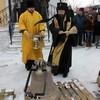 Новые колокола освятили и подняли на колокольню Воскресенской церкви Томска