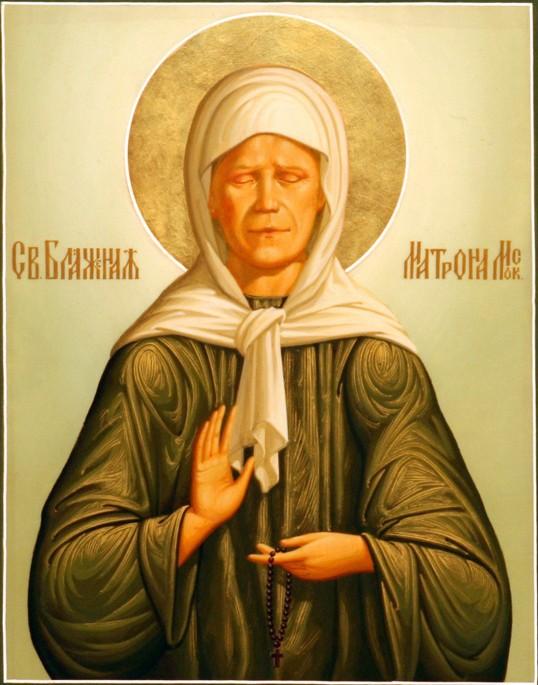 ...нового святого - к столь величественному церковному канону была причислена знаменитая Матрона Московская.