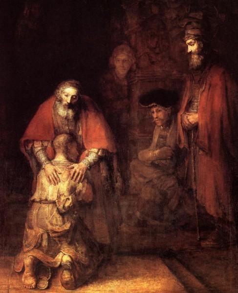 Рембрандт Харменс ван Рейн. Возвращение блудного сына