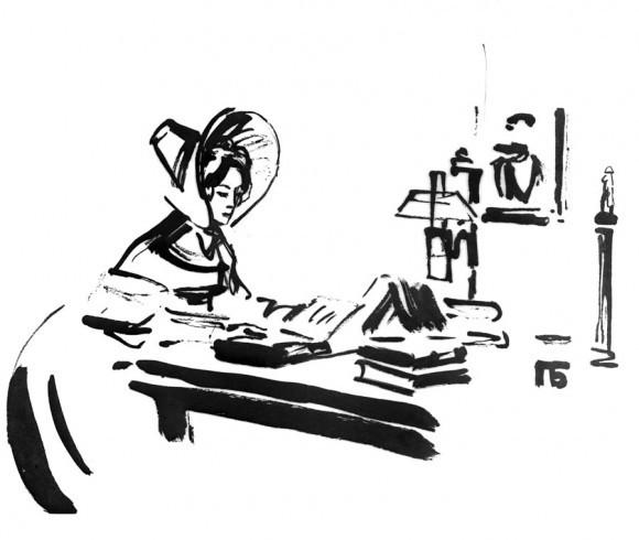 Павел Бунин. Иллюстрация к роману в стихах Александра Пушкина «Евгений Онегин» РИА Новости