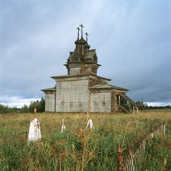 Пермогорье, Архангельская область. Георгиевский храм (1665 г.)