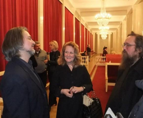 "Протодиакон Андрей Кураев:  ""Спасибо, Вы меня наконец примирили с творчеством Гребенщикова"""