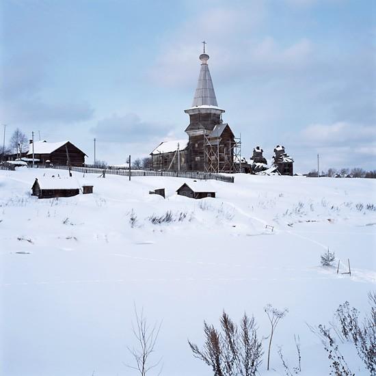 Погост Самино, Архангельская область. Илиинский храм (1692 -1702)