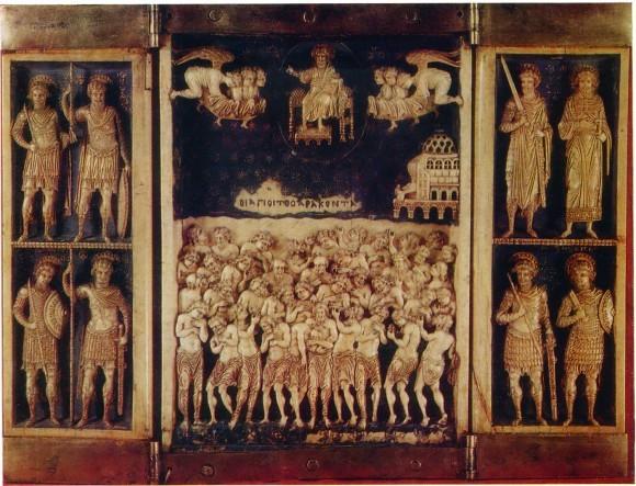 Сорок мучеников Севастийских и святые воины. Византийский триптих