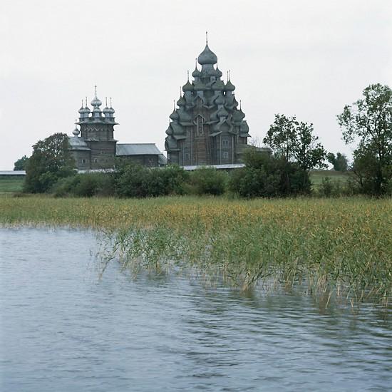 Кижи, Карелия. Преображенский храм (1714)