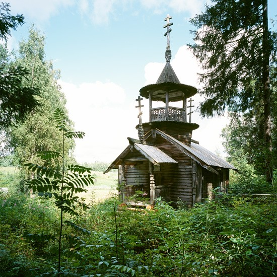 Коккоила, Карелия. Варваринская часовня (ранее XVIII в.)