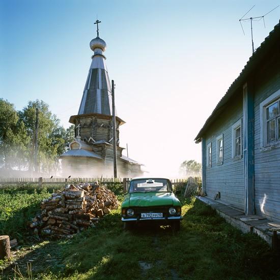 Космозеро, Карелия. Храм прп. Александра Свирского (1769)