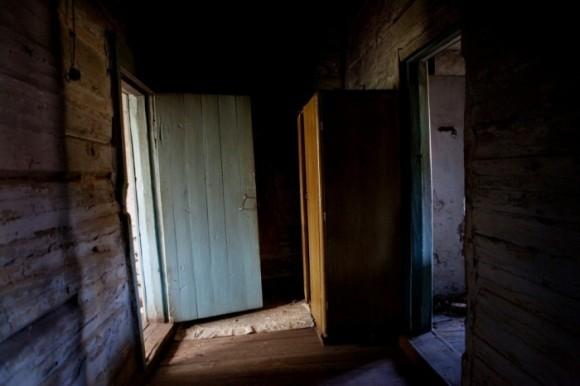 Интерьер ИТЛ, где работали и были казнены заключённые, включая детей. Короткерос, Россия