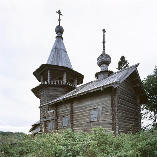 Усть-Яндома, Карелия. Георгиевская часовня (XVII-XVIII в.)