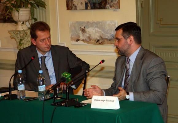 Жан-Франсуа Тири и Владимир Легойда