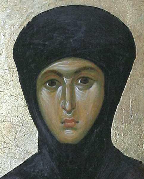 Св. Феодосия. Фрагмент