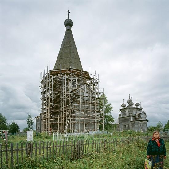 Лядины, Архангельская область. Покровский храм (1761)