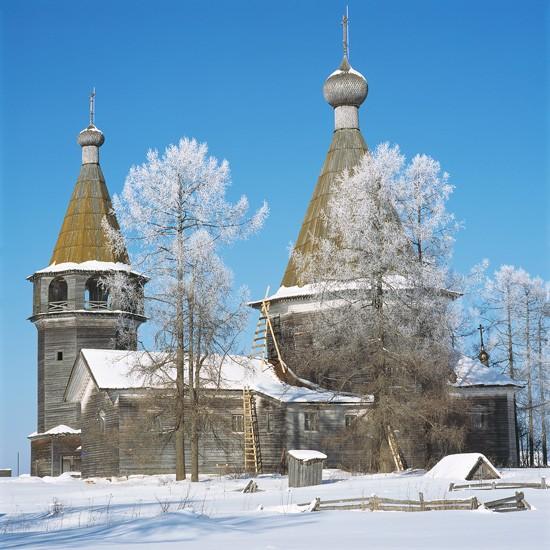 Ошевенское, Архангельская область. Богоявленский храм (1787)