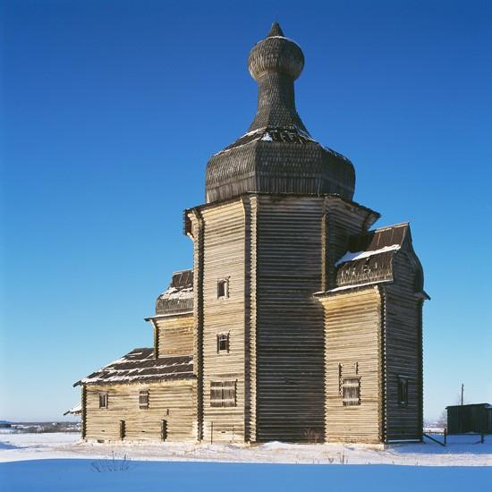 Заячье, Архангельская область, Никольский храм (XVII-XVIII в.)