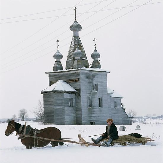 Ракулы, Архангельская область, Воскресенский храм (1766)