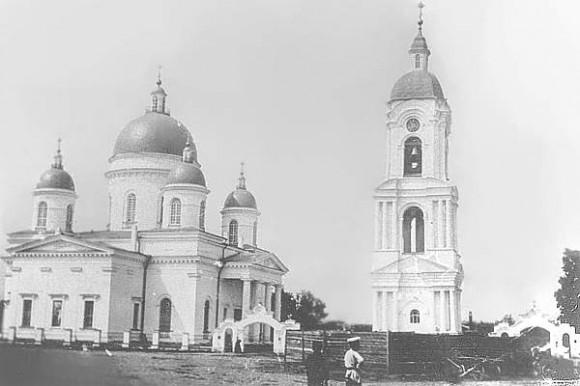 Троицкий собор в Боровичах. Начало ХХ в.