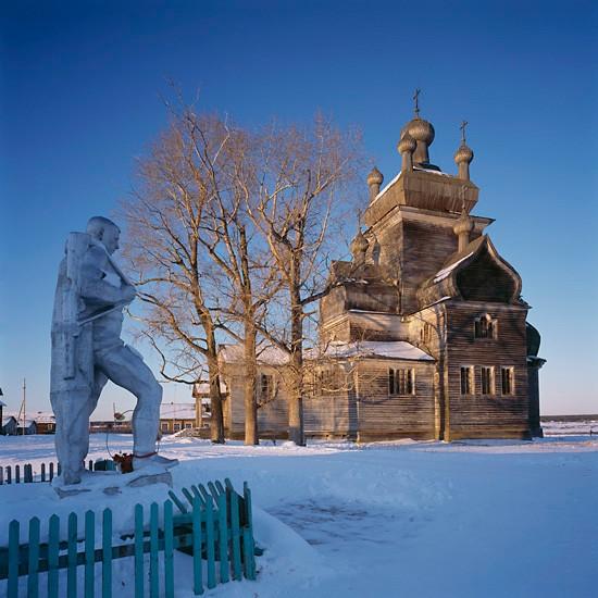 Турчасово, Архангельская область. Преображенский храм (1781)