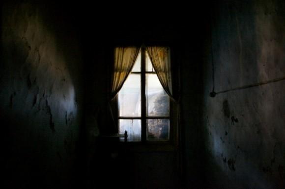 Вид из ИТЛ, где работали и были казнены заключённые, включая детей. Короткерос, Россия