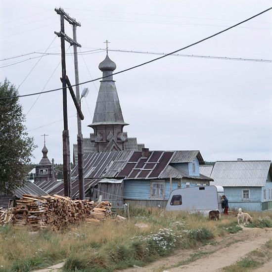 Варзуга, Мурманская область. Успенский храм (1674)
