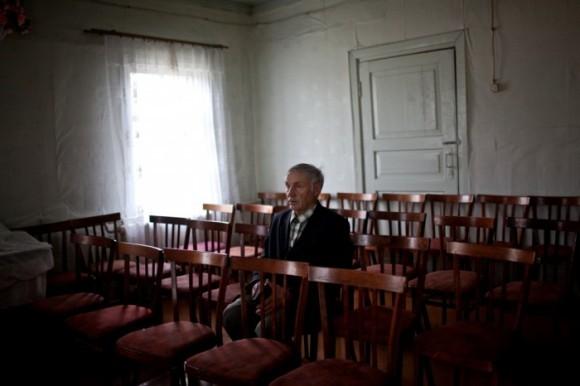 Деревни Коми с деревянными домами соединяют истории двух наций - русских и зырян