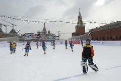 Русский хоккей на Красной площади — за Кубок Патриарха (ФОТО)