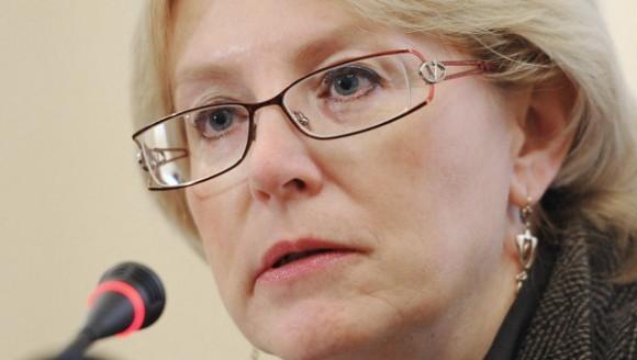 Министр здравоохранения Вероника Скворцова. Фото: spb.ria.ru