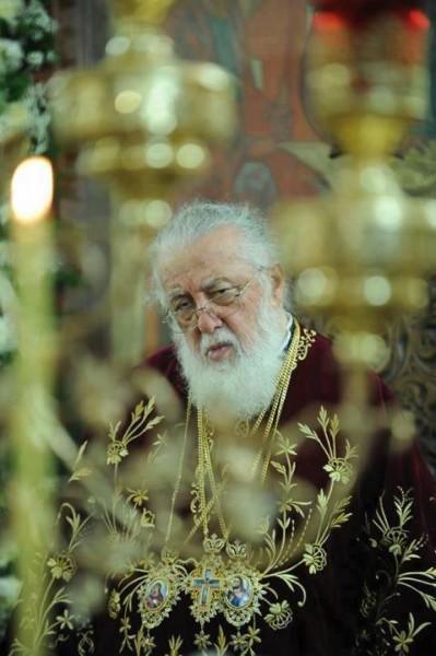 Святейший Католикос-Патриарх Илия II
