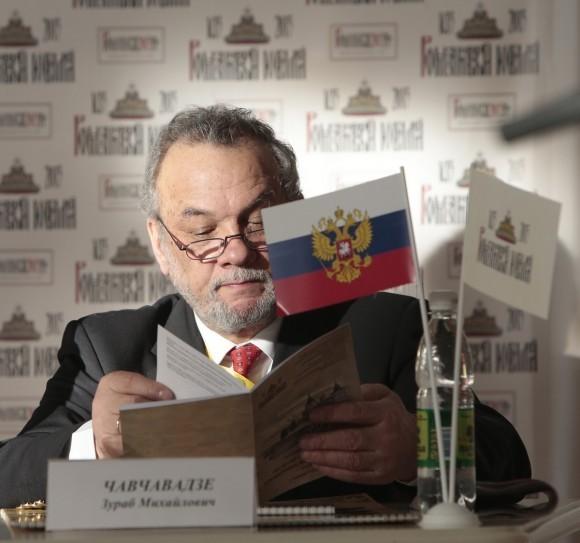 Зураб Чавчавадзе, директор гимназии свт. Василия Великого