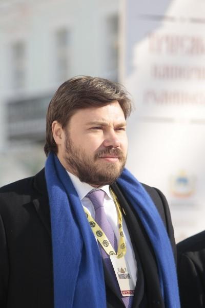 Председатель совета МОО «Романовский юбилей», учредитель БФ Святителя Василия Великого Константин Малофеев