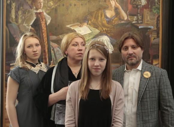 Семья Ивана Глазунова